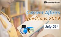Current-Affairs-Questions-2019-July-21st