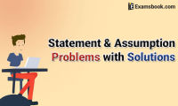 statement and assumption problems with solutions