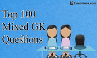 Top 100 Mixed GK Questions