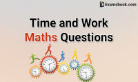 time and work maths questions