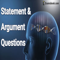Statement and Argument questions