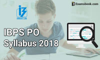 IBPS PO syllabus 2018