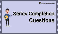 series completion questions and answers