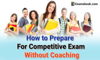 how to prepare for competitive exam without coaching
