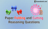 paper folding and cutting reasoning questions