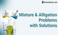 mixture and alligation problems with solutions