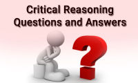 Critical reasoning questions