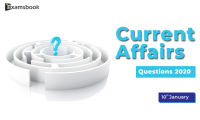 Current-Affair-Questions-2019-Jan-10th