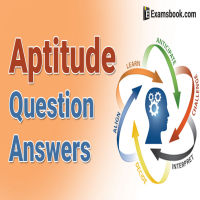 Aptitude Questions and Answers