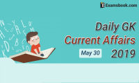 Daily-GK-Current-Affairs-2019-May-30