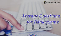 average questions for bank exams