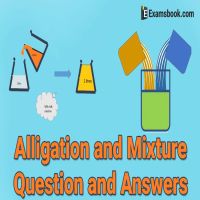 Alligation and mixture questions