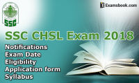 SSC CHSL Exam 2018