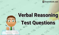 Verbal Reasoning Test Questions