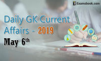 daily gk current affairs 2019 may 06