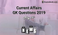 Current-Affairs-GK-Questions-2019-May-16th