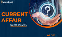 Current-Affair-Questions-2019-Dec-05