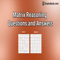 matrix reasoning questions and answers