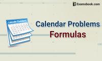 calendar problems formula