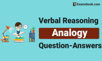 Verbal Reasoning Analogy Questions