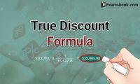 true discount formula